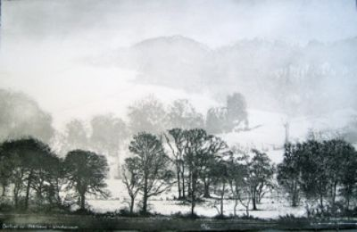 Cartmel in February - Windermere by Norman Ackroyd