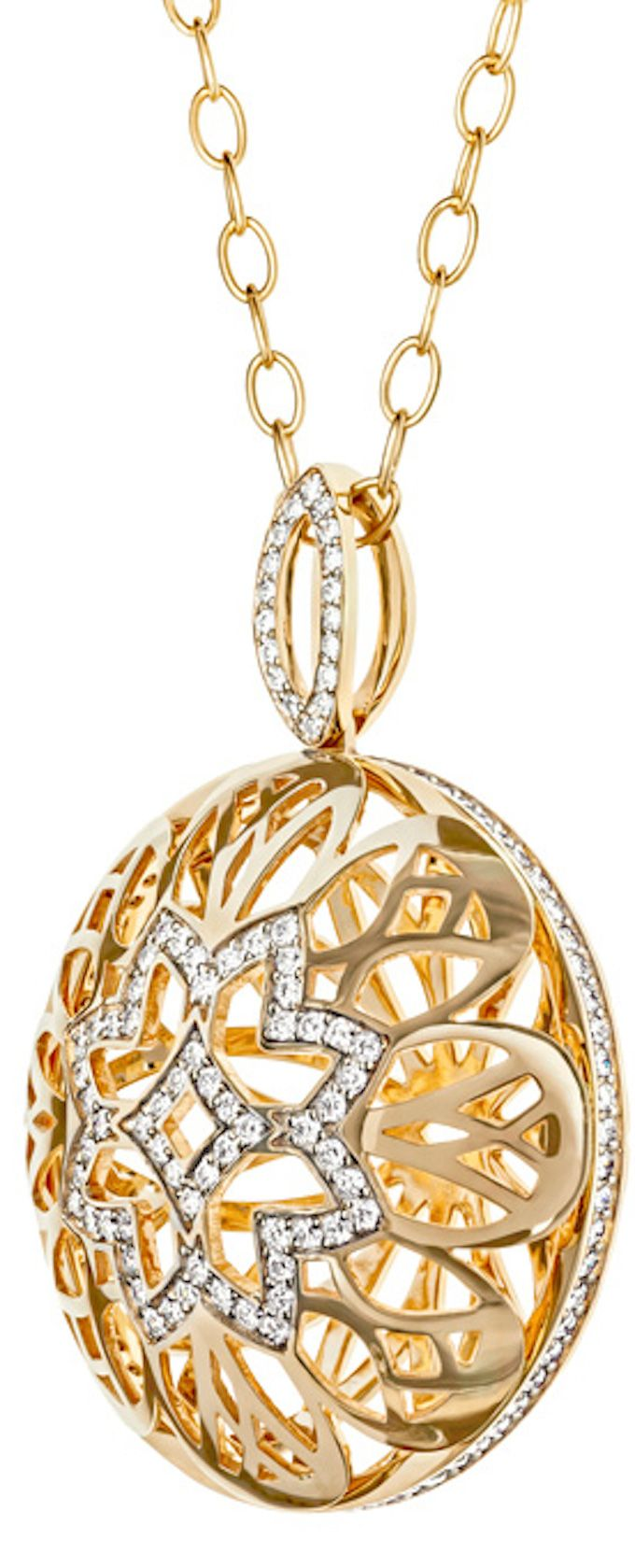 Pendant - Gold and Diamonds