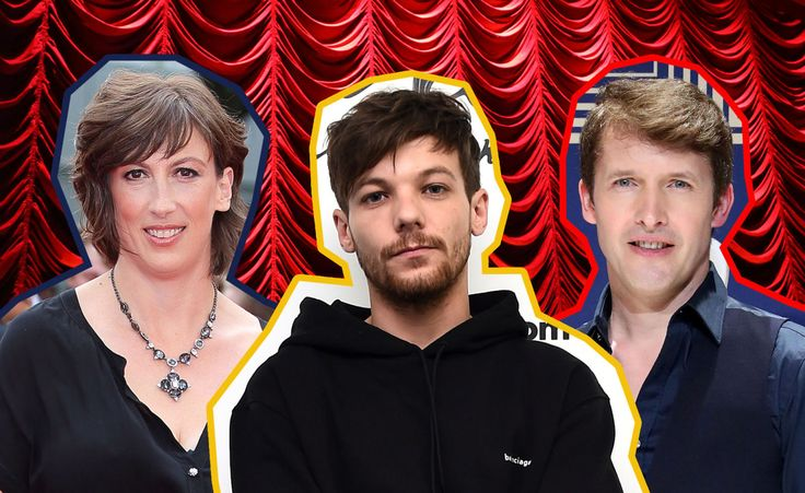 Miranda Hart bringing Louis Tomlinson, James Blunt and BGT winner Tokio Myers together for Royal Variety 2017 - 24.11.2017 at the London Palladium