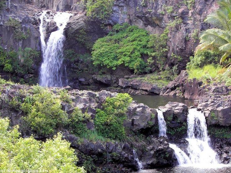 The Seven Sacred Pools on Maui Island #travel #hawaii