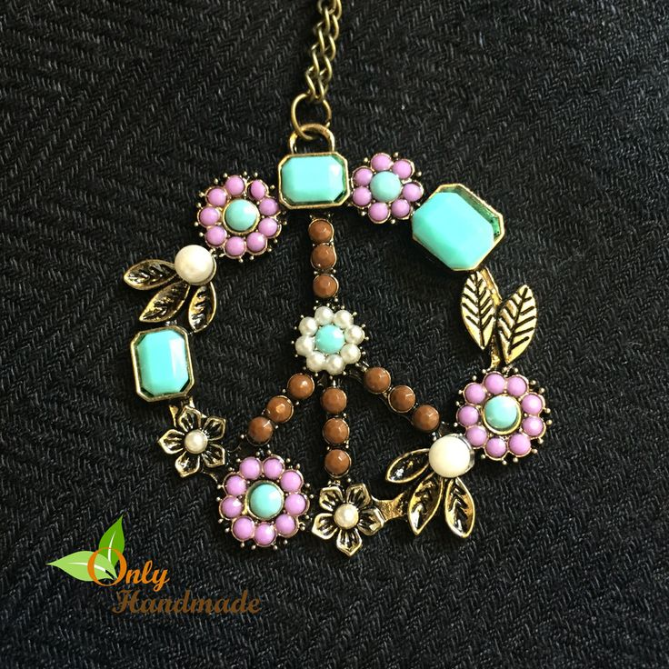 Gypsy Tribal Peace Necklace