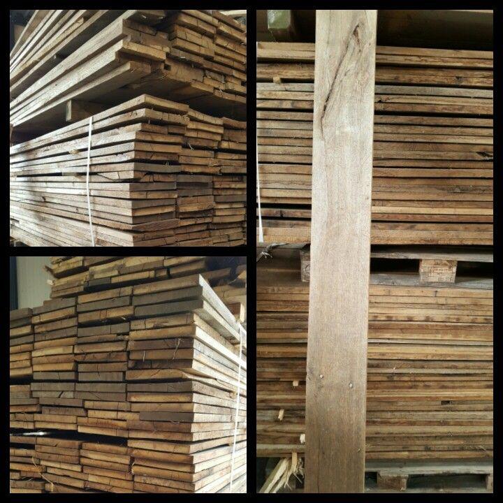 Antieke eiken planken  Uit voorraad leverbaar bij Wood and Stones  www.woodandstones.nl