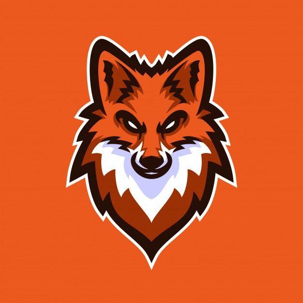 Fox Esport Gaming Mascot Logo Template Fox Logo Design Logo Design Art Animal Logo
