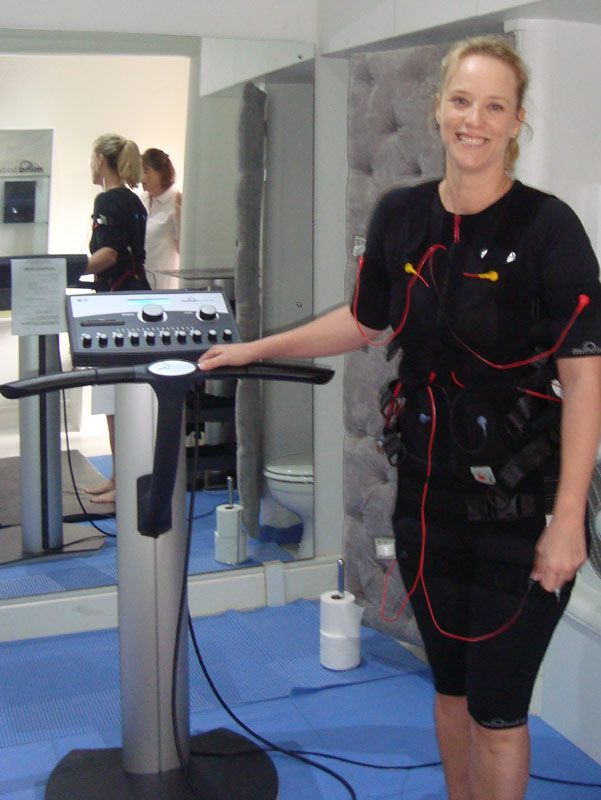Miha Bodytec EMS workout = best workout in 20 min ever!  Read Review: http://pampermenow.co.za/miha-bodytec-revie/