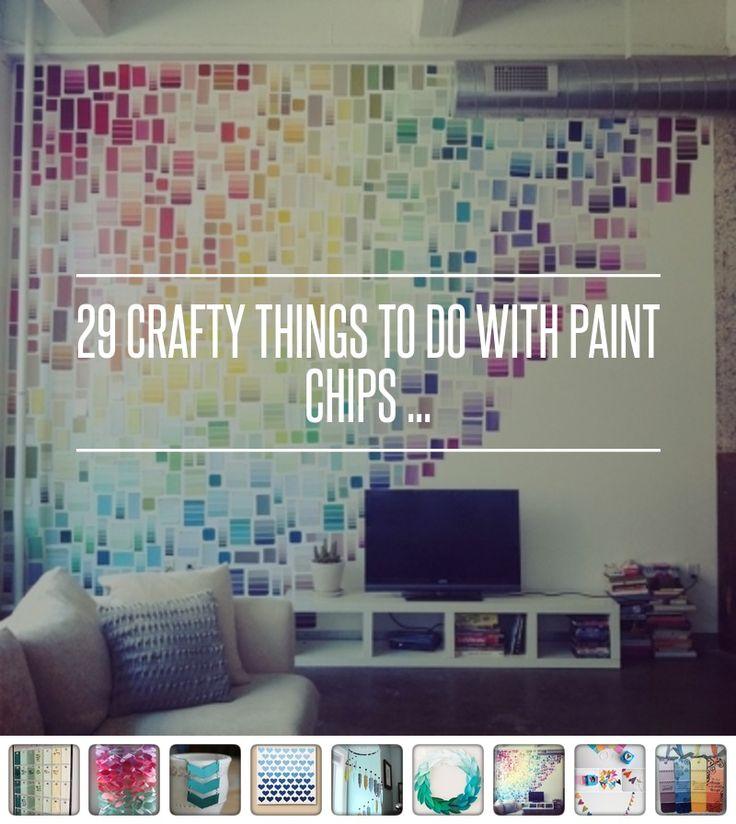 #Ideoita käsitöihin! #värikartta #paintchip