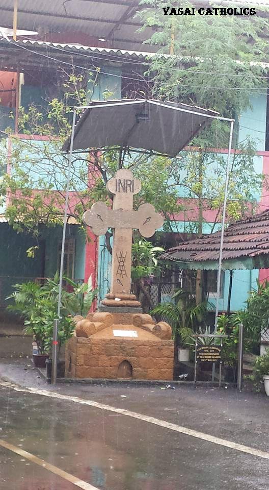 Cross Near Christian Aali, Palle Parish, Vasai West.