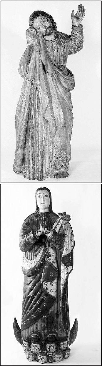 SAn Juan taller jesuitico SXVIII. Museo del Barro - Virgen de la inmaculada concepcion taller franciscano caazapa. sxviiii Museo del Barro. https://es.scribd.com/document/48680022/Textos-Imagineria-Religiosa-Portal-Guarani-com
