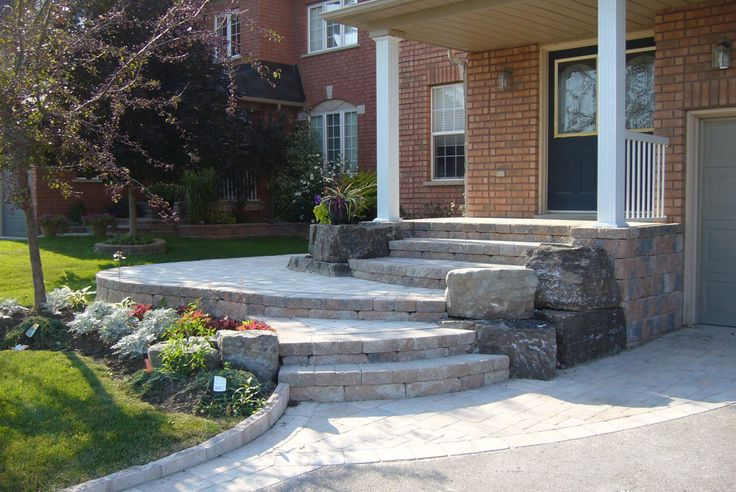 Simple Curb Appeal Ideas Front Yards Entrance
