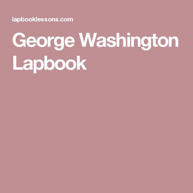 George Washington Lapbook
