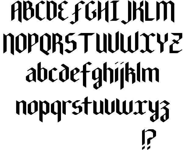 Best 25 Gothic Fonts Ideas On Pinterest