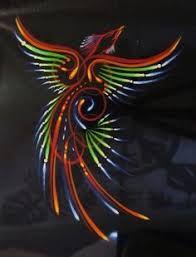 Image result for pinstriping bird