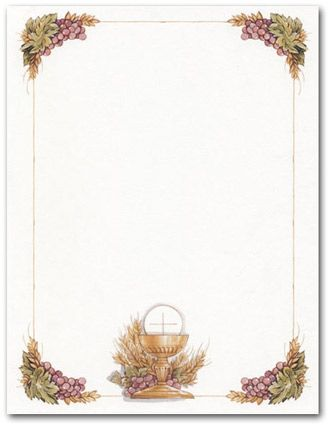 Chalice Icon Invitations | First Communion Invitations