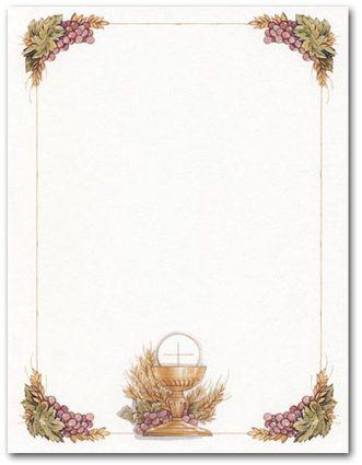 Chalice Icon Invitations | First Communion Invitations