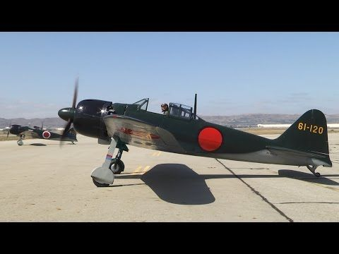 Pearl Harbor flight featuring the PoF Mitsubishi A6M5 Zero - YouTube