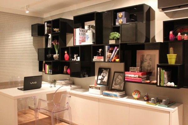 estante para home office