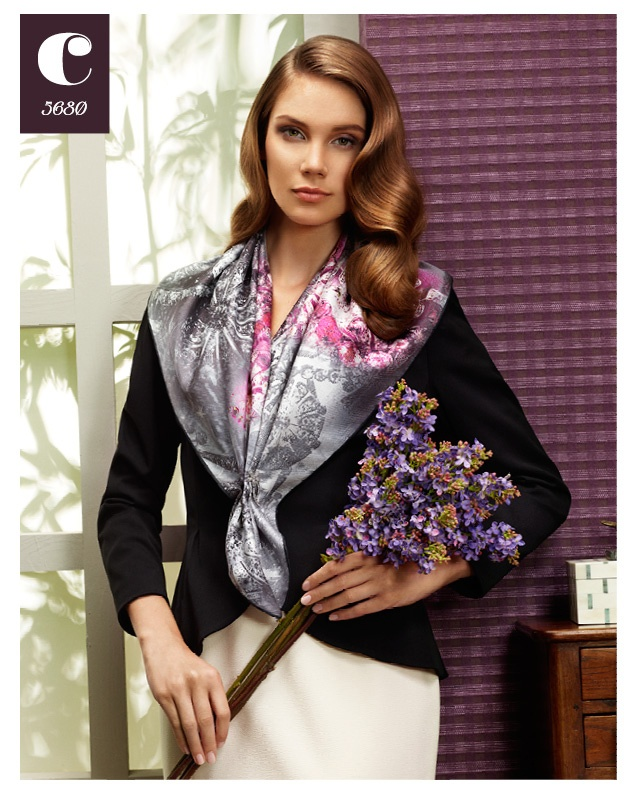 Cacharel Scarf 2012-13 Fall / Winter www.cacharelscarf... #scarf #cacharel #aker #esarp #hijab #fashion #silk #scarves