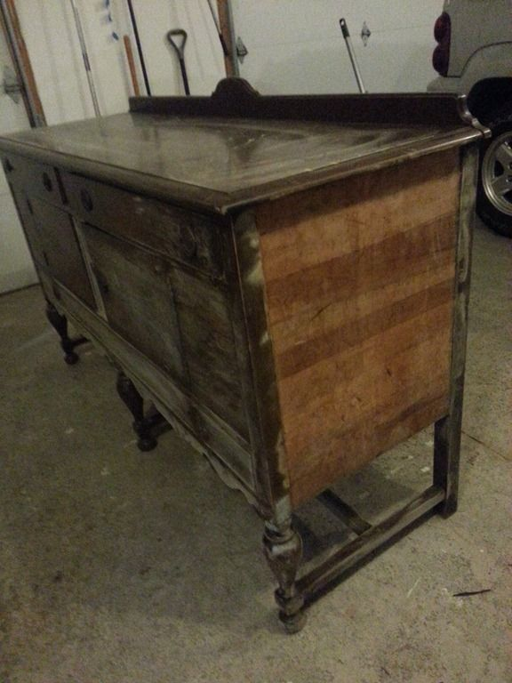 1000 ideas about painting veneer furniture on pinterest How to remove paint from wood furniture