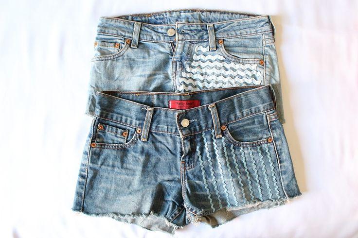Picci's Love: DIY: come modificare dei vecchi shorts