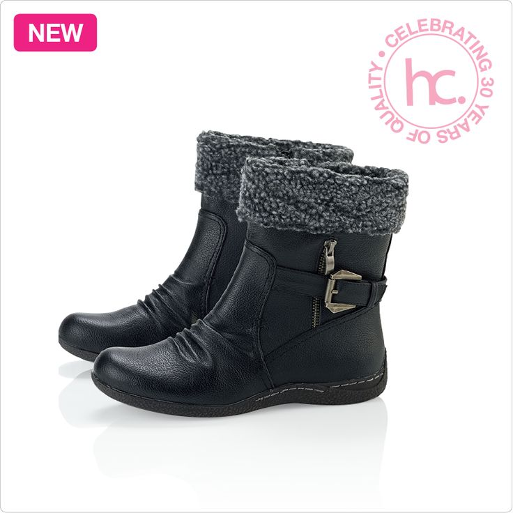 New Eliana ankle boots Sizes: 3 - 8 Available in black and brown From R499 cash or only R63 a month! Shop now >> http://www.homechoice.co.za/Fashion/Shoes/Eliana.aspx