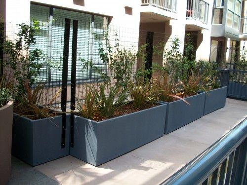 Living Privacy Screens @ Trellis Condominium Terrace, San Diego ...