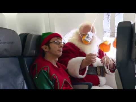 Delta's Very Funny Holiday In-Flight Safety Video http://www.moretimetotravel.com/delta-flight-safety-video-will-make-smile/