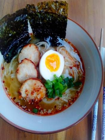 Homemade Spicy Miso Ramen