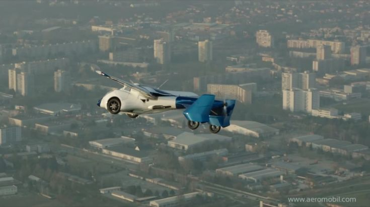 Real Life Flying Car Reportedly For Sale in 2017. It's Not A Dream Anymore