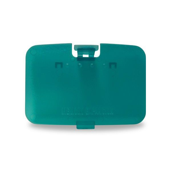 NEW Clear ICE BLUE Memory Expansion - Jumper Pak Cover - Lid Nintendo 64 - N64 #HYPERKIN