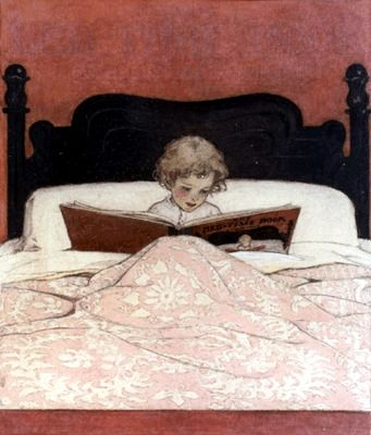 """""""The Bed-Time Book"""" ~ Jessie Willcox Smith"""
