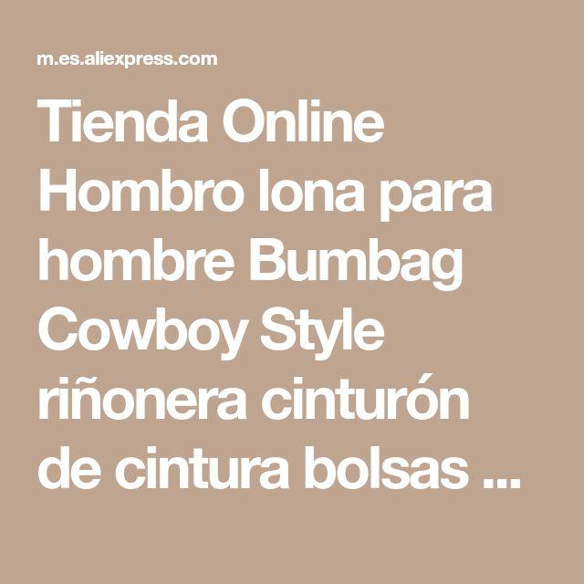 Tienda Online Hombro lona para hombre Bumbag Cowboy Style riñonera cinturón de cintura bolsas caliente venta del nuevo | Aliexpress móvil