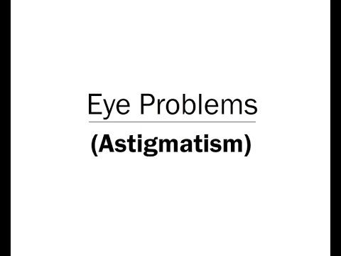 Eye Problems Astigmatism Animation (Telugu Audio)