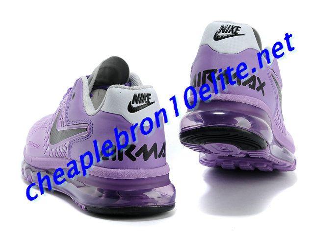Purple and White Nike Air Max 2013 Dragon Galaxy Womens Black