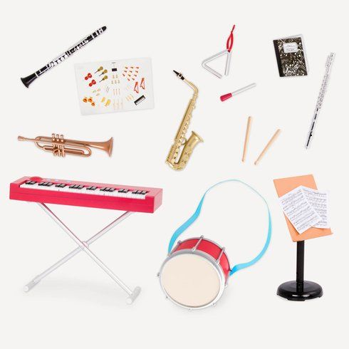 Superb Our Generation School Band Music Deluxe Set Now At Smyths Toys UK! Buy Online Or Collect At Your Local Smyths Store! We Stock A Great Range Of Our Generation At Great Prices.