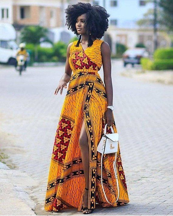 87328c164fad African print maxi dress -Ankara maxi dress-dress-maxi dress-women dress-Women  clothing -clothing-An