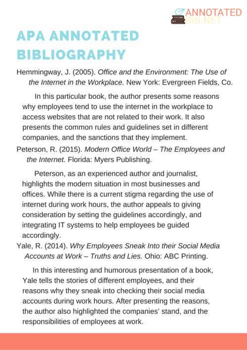 pin by annotated bib samples on apa annotated bibliography