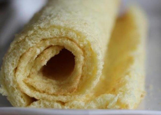 La base perfecta de un arrollado diet riquísimo. Lista para rellenar con ingredientes salados o dulces. Masa casera de Pionono…Leer...