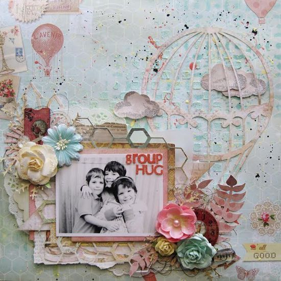 The Sweetest Palette Ever! Layout by our guest designer, Zeneva Kovic! #ppp #primachallenges