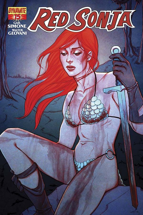 The Power of Forgiveness in Red Sonja #15