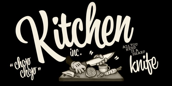 Kitchen - Webfont & Desktop font « MyFonts