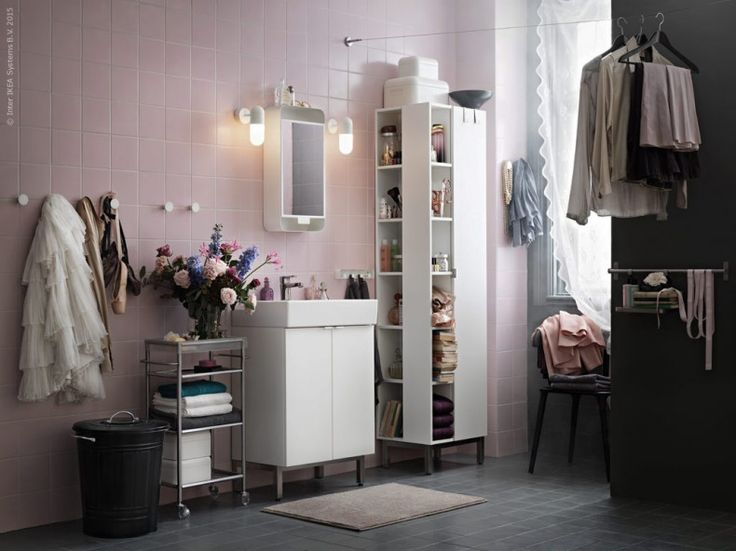 Gravity Gravity Pink Ikea Bathroom By Marcus Lawett