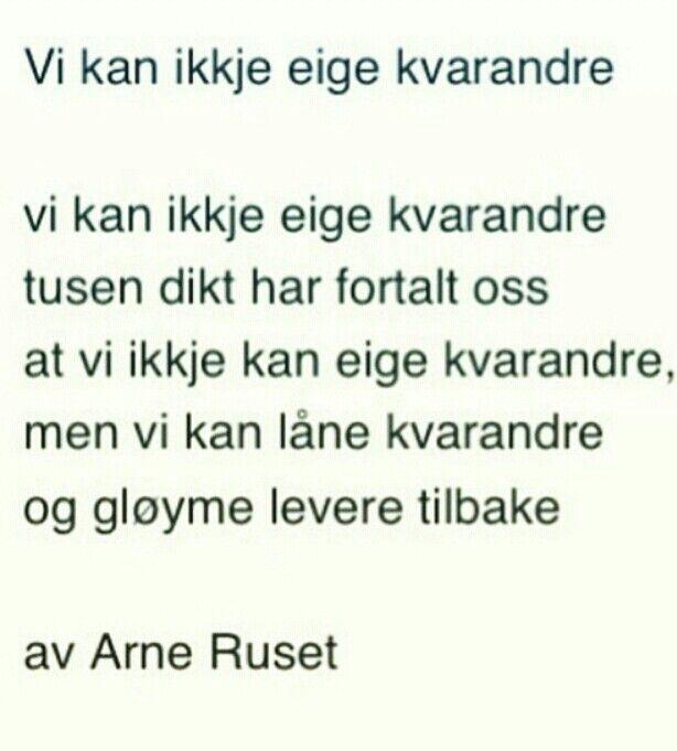 Dikt, nynorsk