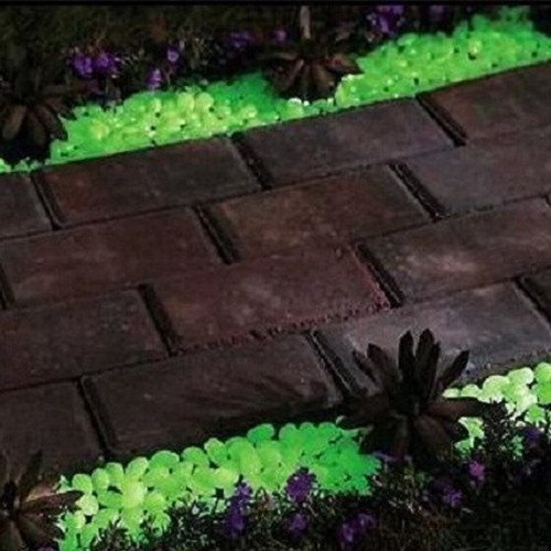 HighlightsTired of stumbling along your footpath in the dark Never get lost on your way to the front door again with 100 glow in the dark pebblesThey abso