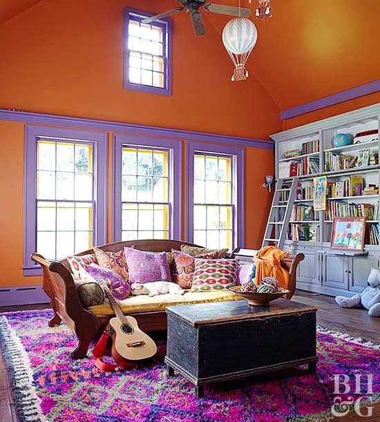 Bright Orange Living Room Accessories: Best 25+ Orange Rooms Ideas On Pinterest
