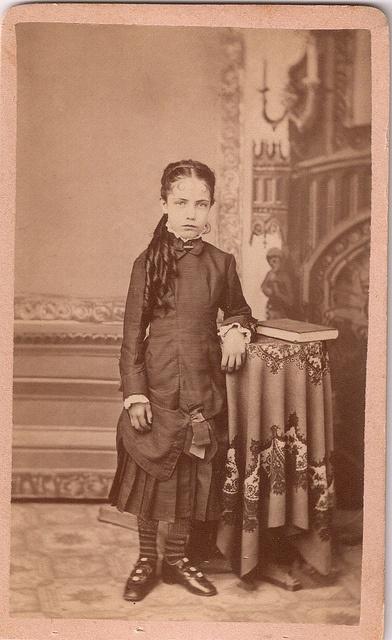 Ritratto di ragazzina. 1800