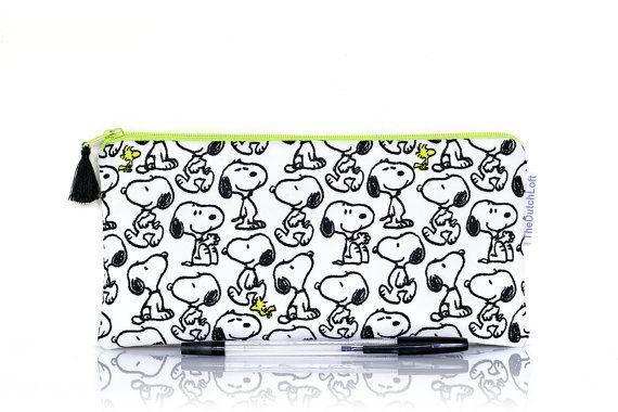 Peanuts Snoopy plumier porte-monnaie pochette par TheDutchLoft