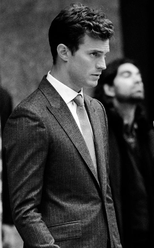 Jamie channeling Christian Grey
