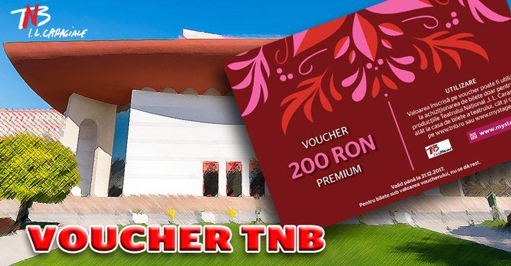 Câștigă un voucher în valoarea de 200 Lei! Teatrul Național București te așteaptă la spectacole!