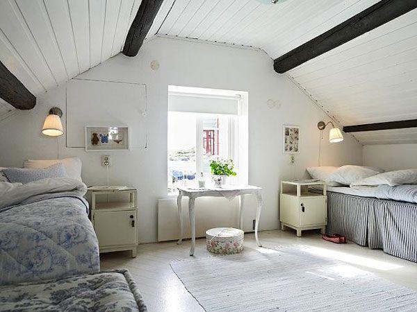 Charming And Cozy Attic Bedrooms   Scandinavian Interiors ~ Interior Design  Files Part 83