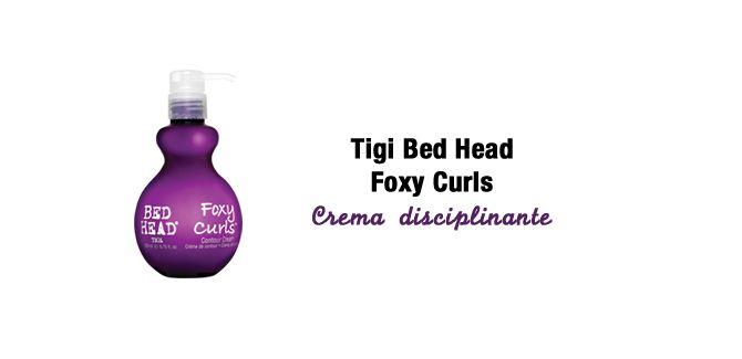 Tigi Bed Head Foxy Curls Contour Cream
