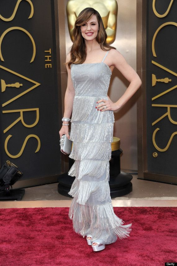 Jennifer Garner in Oscar de la Renta